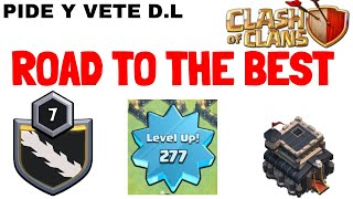 ROAD TO THE BEST REQ CLAN / TH 9 PLAYER😍🔥 | Lets play clash of clans👌🤟 | Req n Leave |