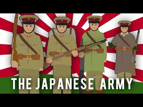 WWI Factions: The Japanese army