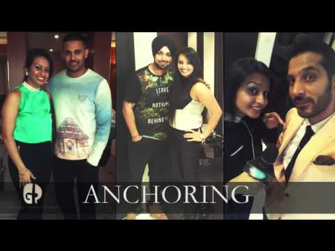 Gur Rayat AKA GR Showreel - Public Relations I Anchoring I Script Writer