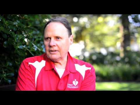 Heart Foundation WA President, Graeme Robson and HBF Run for a Reason