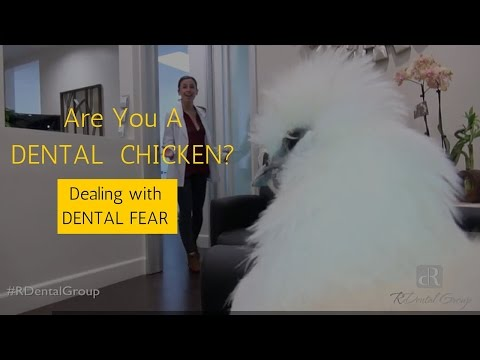 Dental Fear - Beverly Hills Los Angeles Dentist Dr. Riman Reveals that he is A Dental Chicken