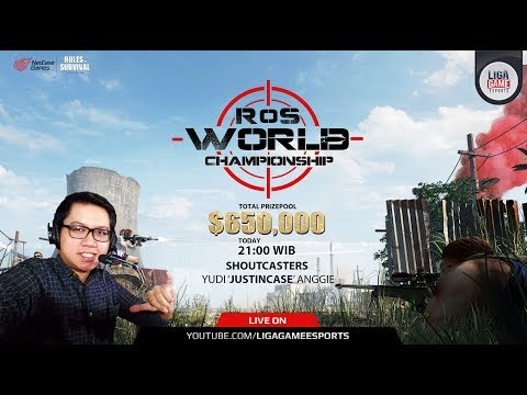 Rules of Survival - World Championship - Erope and South America Stage