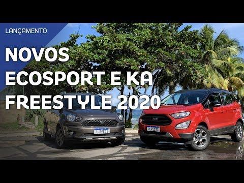 Novos Ford Ka e EcoSport Freestyle 2020