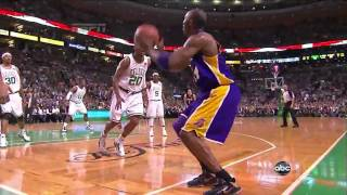 kobe bryant gets heckled and drains two 3's in a row!!!!HD