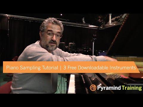 Piano Sampling Tutorial | 3 Free Downloadable Instruments