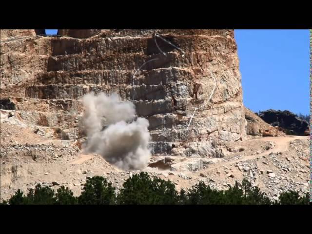 July 14, 2014 Crazy Horse Memorial Blast