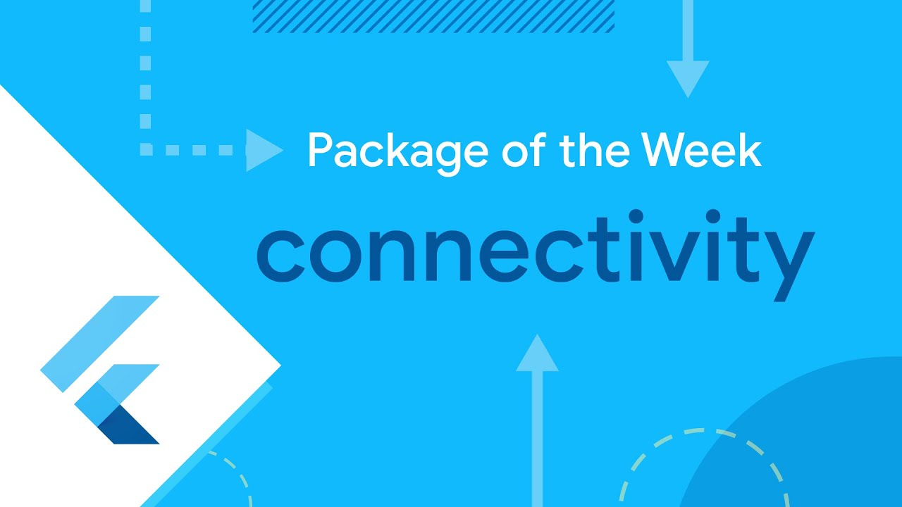 Connectivity (Flutter Package of the Week)