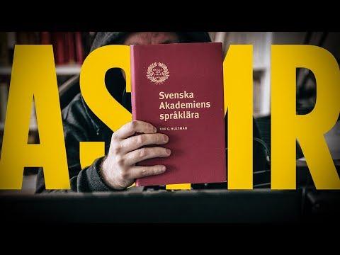 SWEDISH ASMR – SWEDISH GRAMMAR (WHISPER)