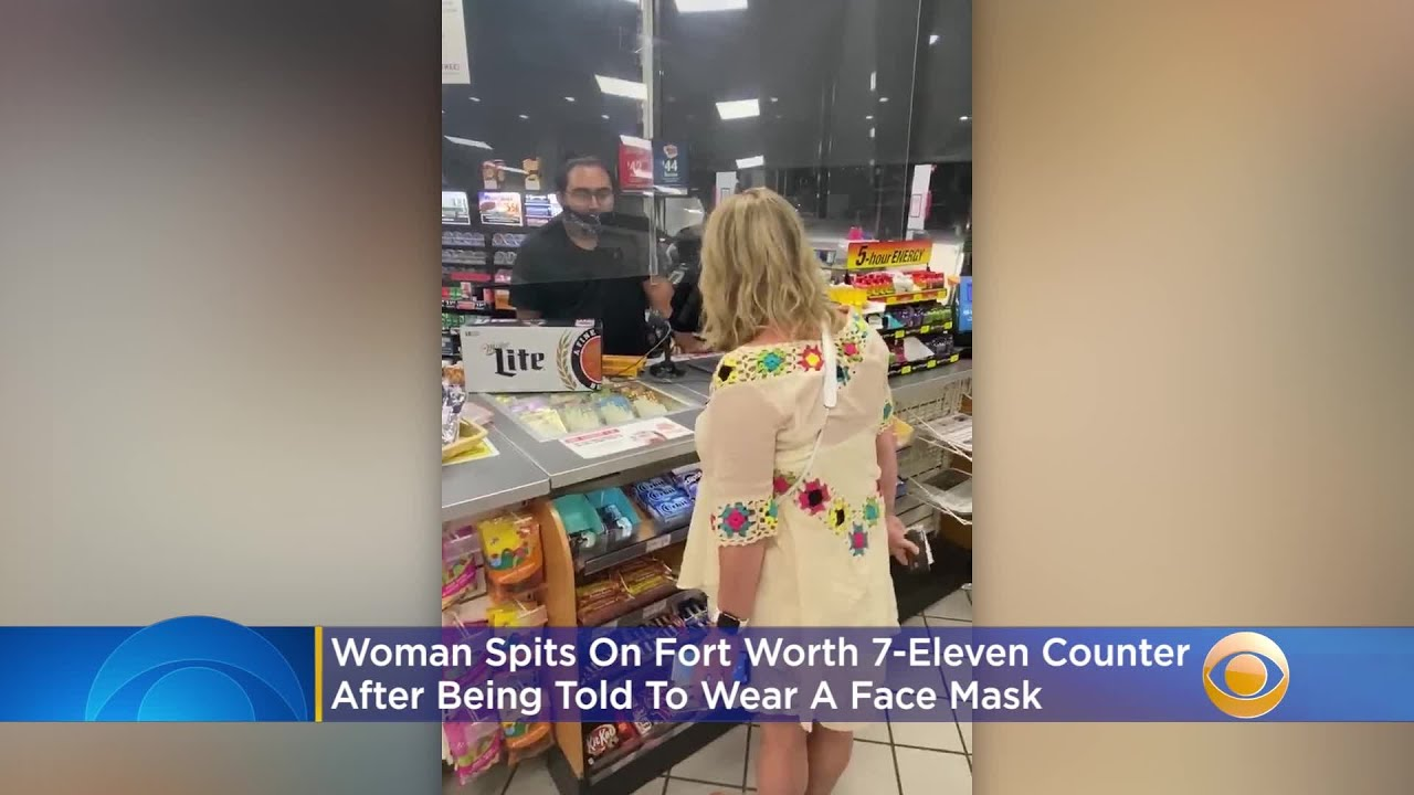 Woman In Fort Worth 7-Eleven Spits On Counter After Being Told She Had To Wear A Face Mask