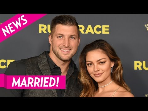 AM Tampa Bay - Tim Tebow and Demi-Leigh Nel Peters Are Officially Married