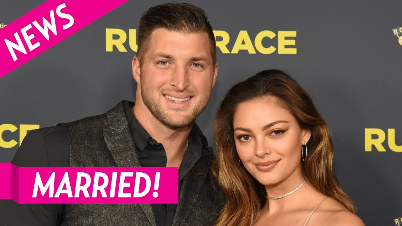 Tim Tebow marries former Miss Universe Demi-Leigh Nel-Peters in ...
