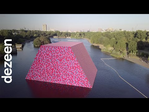 Christo interview: London Mastaba floating installation | Architecture | Dezeen