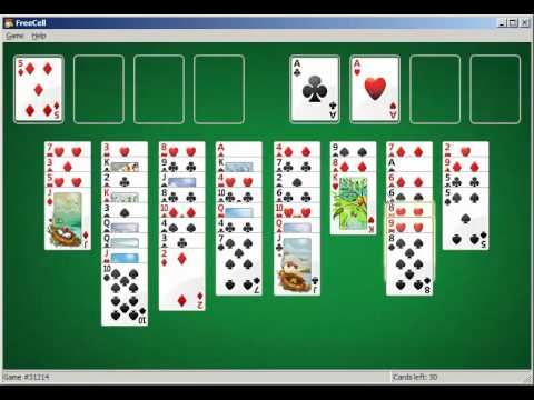 Freecell Strategies - How To Win at Freecell - YouTube