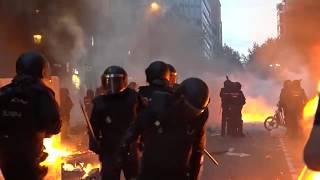 Katalonien im Generalstreik - Spanische Klassenjustiz verurteilt Separatisten zu hohen Haftstrafen