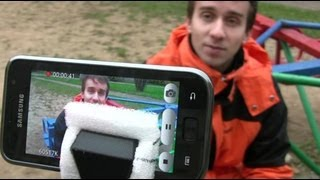Как качественно снимать видео на телефон, а?(Очередная серия обучения всему на свете расскажет как можно снять профессионально выглядящая видео на..., 2012-10-23T15:20:02.000Z)