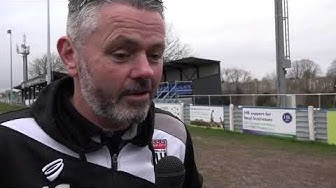 REACTION | City manager Jerry Gill following 1-0 away win at Hungerford Town 14/3/20