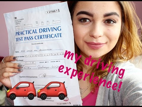 My driving experience - Lessons & Tests: tricks and tips!