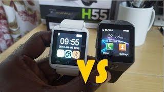 U8 VS DZ09 Smartwatch Comparison