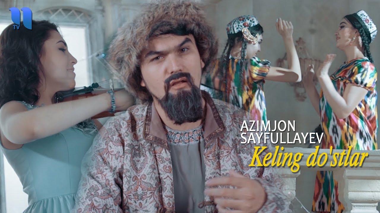 Azimjon Sayfullayev - Keling do'stlar | Азимжон Сайфуллаев - Келинг дўстлар (Yangi yil kechasi)