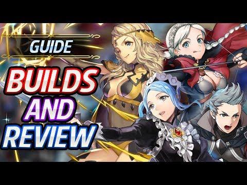 Ophelia, Flora, Nina & Silas Builds & Review  Fire Emblem Heroes Nohrian Dusk