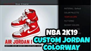 11f3c324978 NBA 2K19 JORDAN CUSTOM COLORWAY WITH A HUGE VC CHECK ...