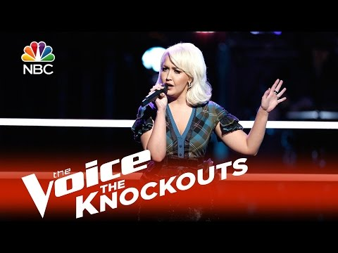 "The Voice 2015 Knockouts - Meghan Linsey: ""(You Make Me Feel Like) A Natural Woman"