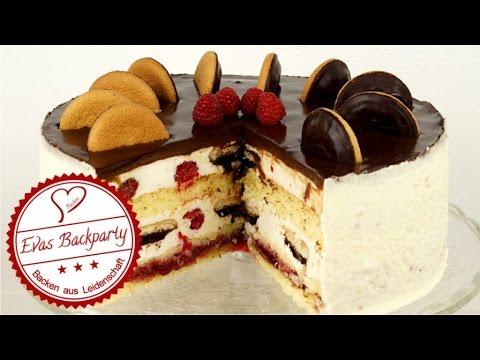 Jaffa Cake Torte Soft Cake Torte Heller Biskuit Himbeere