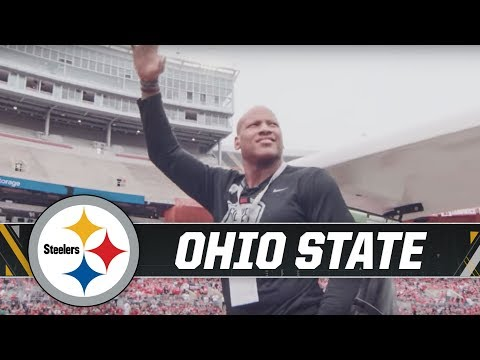 Shazier attends Ohio State spring game