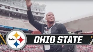 Ryan Shazier attends Ohio State spring game | Pittsburgh Steelers