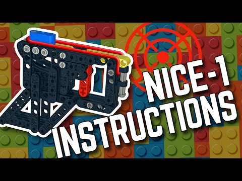 LEGO Building Instructions - NICE-1 Pocket Pistol