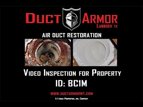 Duct Armor Video Inspection - BC1M
