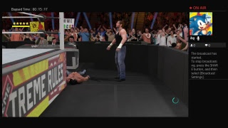 WWE 2K17 Dean Ambrose VS Seth Rollins Extreme Rules Match At Extreme Rules
