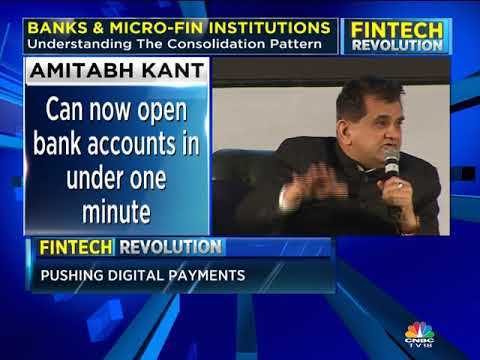 'Saw Huge Disruption in Digital Finance' AMITABH KANT | FINTECH REVOLUTION | CNBC TV18