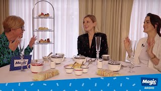 Emma B's Downton Abbey Afternoon Tea | With Michelle Dockery & Laura Carmichael