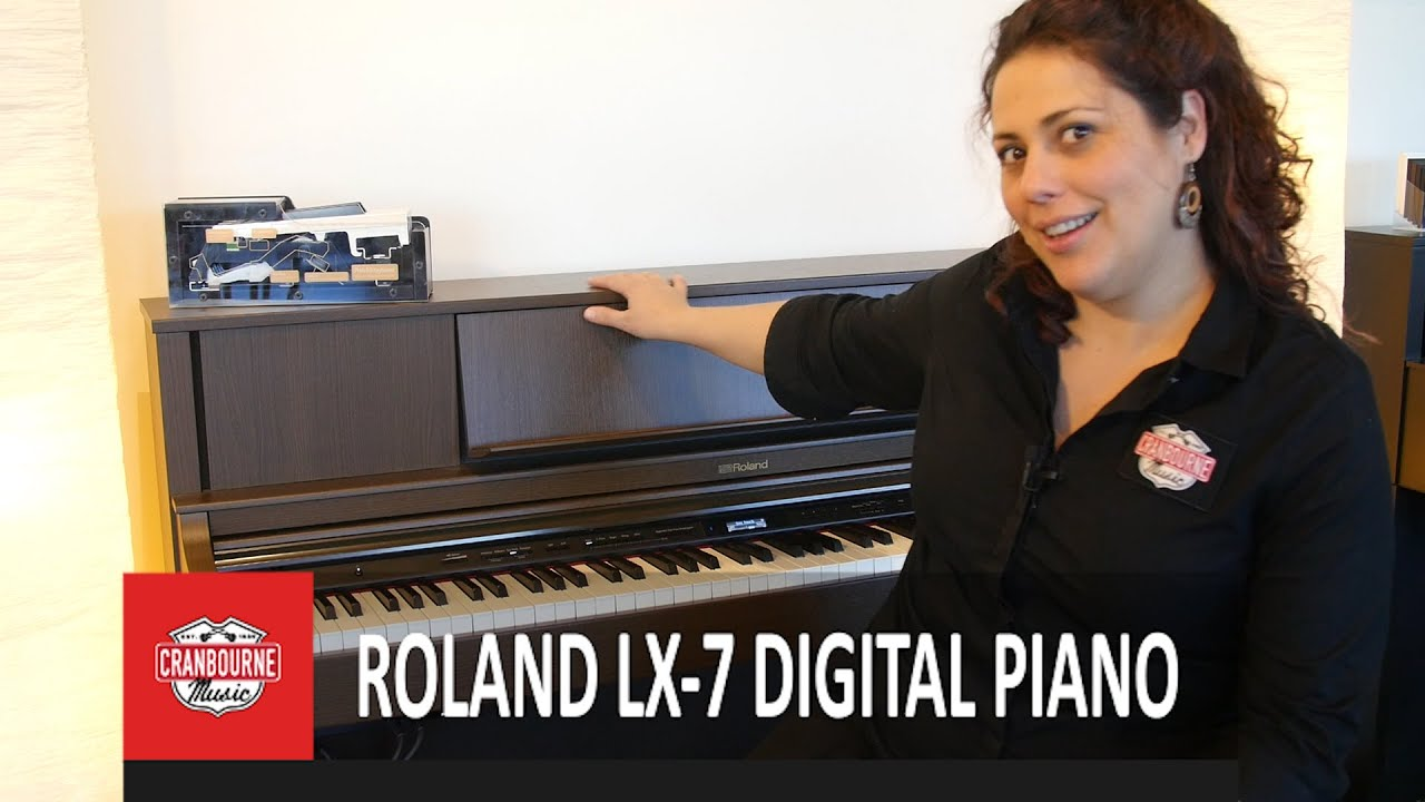 roland lx 7 digital piano youtube. Black Bedroom Furniture Sets. Home Design Ideas