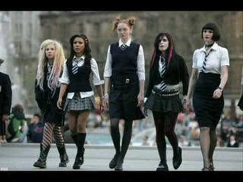 St Trinians theme with lyrics