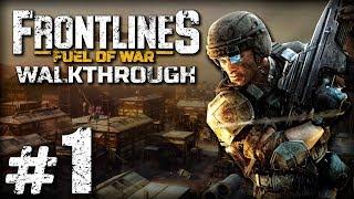Прохождение FRONTLINES: Fuel of War — Часть 1: ПРОЛОГ. ТЬМА СГУЩАЕТСЯ (Туркменистан)
