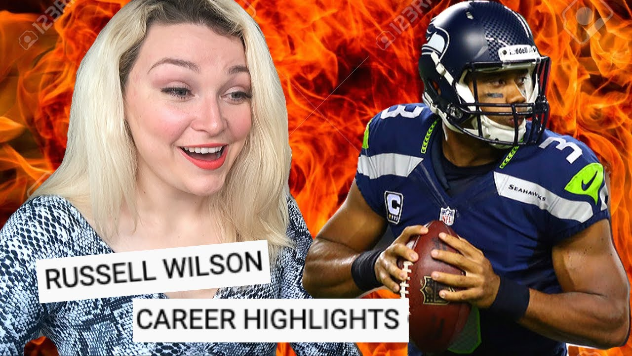 New Zealand Girl Reacts to RUSSELL WILSON CAREER HIGHLIGHTS