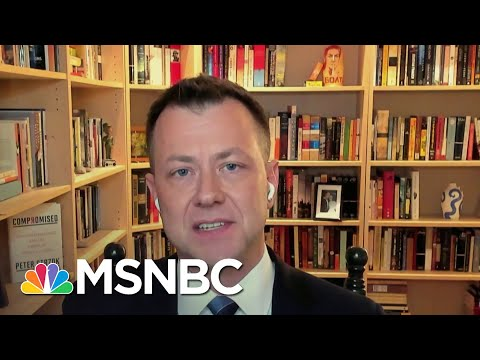 Strzok: 'A Lot Of Different Systems Had To Fail' For The Capitol To Not Be Secure   Deadline   MSNBC