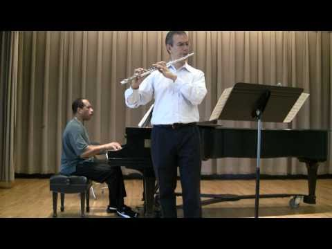 Fiddle Dreams by Paquito D'Rivera for Flute & Piano - Marco Granados & Leon Bates
