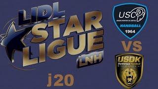 Créteil VS Dunkerque Handball LIDL STARLIGUE j20