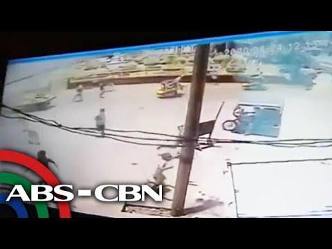 WATCH: CCTV footage of Jolo town plaza blast | ABS-CBN News