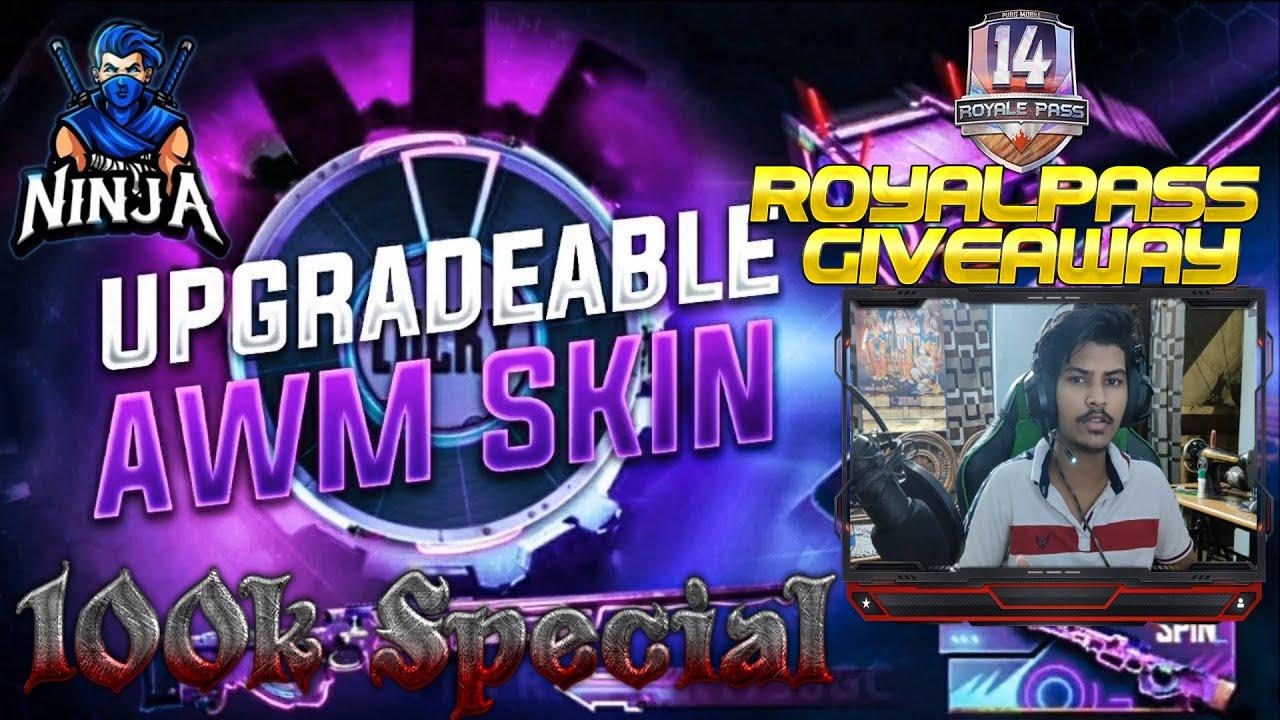 Avenger AWM Spin & RP Giveaway at 100K Subs | Its Ninja