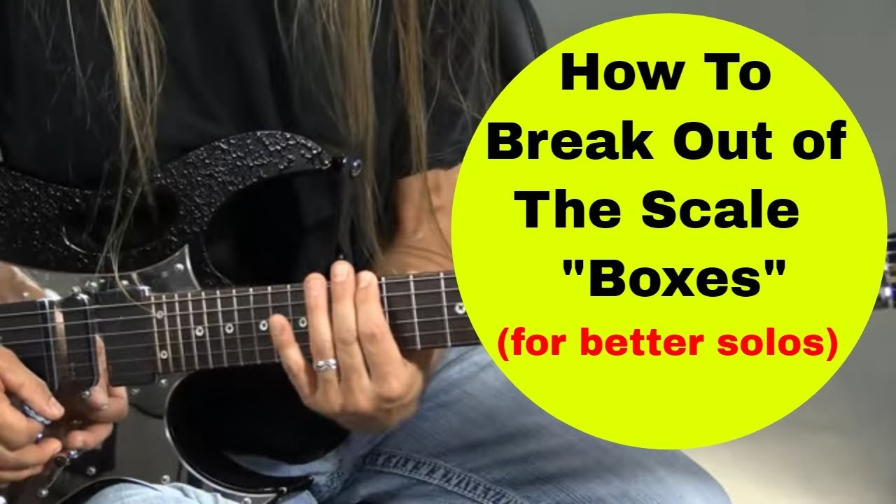 how to break out of the scale boxes for better guitar soloing steve stine guitar lessons youtube. Black Bedroom Furniture Sets. Home Design Ideas