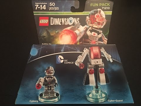 DC Comics Cyborg Fun Pack Lego Dimensions Unboxing & Building