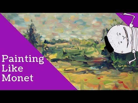 Painting Like Monet