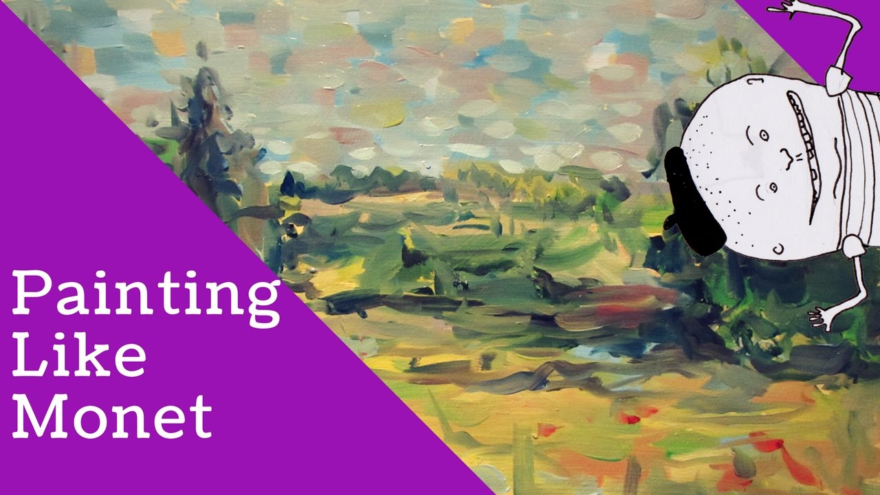 Painting Like Monet - YouTube