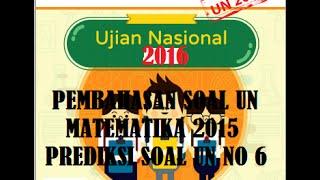 Pembahasan Soal UN Matematika 2016 ~ Prediksi Soal UN SD/MI No 5