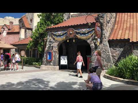 FIRST LOOK - Epcot - Tour of the Norway Pavilion - COVID-19 - 4k