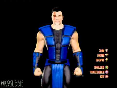mortal kombat 9 mk3 sub zero 3d model youtube. Black Bedroom Furniture Sets. Home Design Ideas
